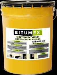 Мастика битумная гидроизоляционная BITUMEX